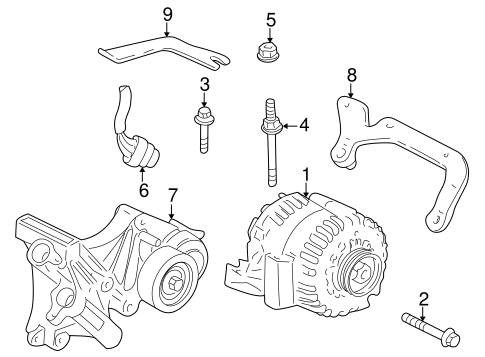 Saab 9 3 Serpentine Belt Diagram, Saab, Free Engine Image