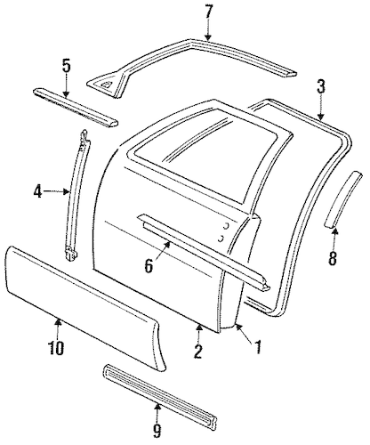 Service manual [1996 Cadillac Seville Rear Window