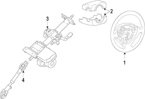 Service manual [2007 Hyundai Elantra Steering Column Shaft