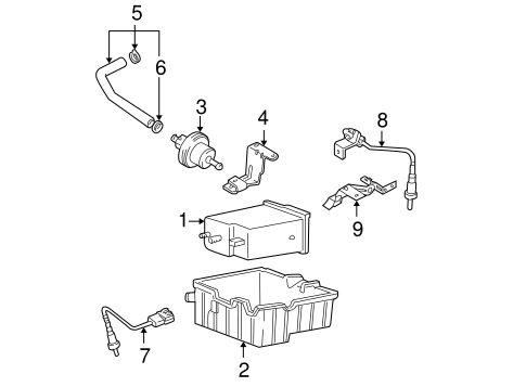 Hyundai Xg350 Egr Valve Parts Diagram. Hyundai. Auto