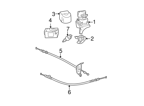 Genuine OEM FUEL SYSTEM COMPONENTS Parts for 2002 Toyota