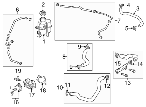 HOSES & LINES for 2015 Chevrolet Spark (LS)