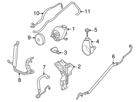 Service manual [How To Change A Powersteering Hose 2003