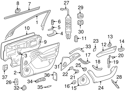 2001 Mercedes C320 Wiring Diagram. 2001. Free Download
