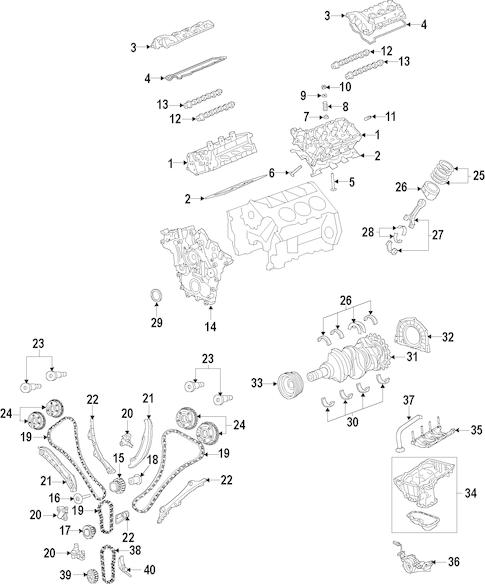 ENGINE for 2013 Dodge Avenger