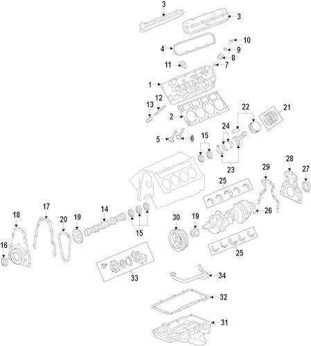 ENGINE for 2011 Chevrolet Caprice