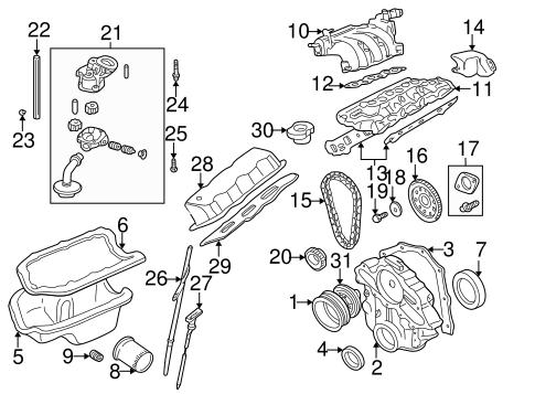 INTAKE for 1998 Mazda B3000