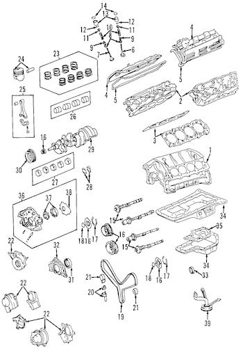 Genuine OEM OIL COOLER Parts for 2005 Toyota 4Runner