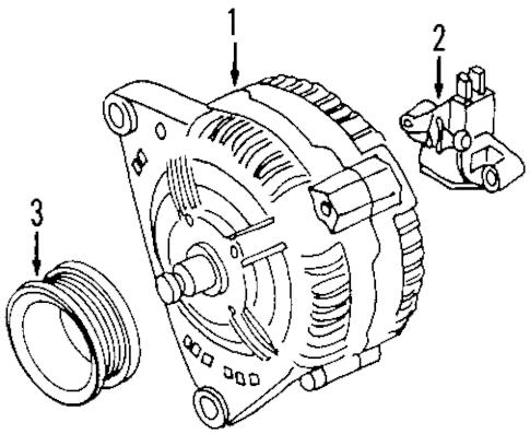 VW Beetle alternators