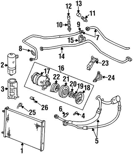 SWITCHES & SENSORS for 1998 Oldsmobile Aurora