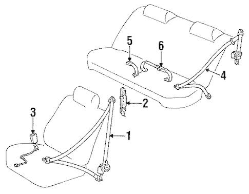 2006 Toyota Camry Suspension Diagram, 2006, Free Engine