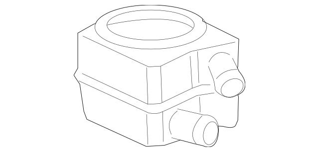 OIL COOLER for 1999 Volkswagen Beetle|078-117-021-A