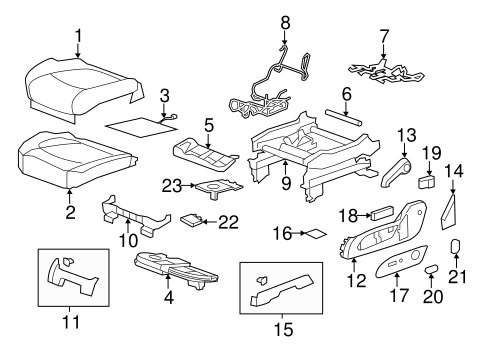 2002 Nissan Pathfinder Front Bumper Parts Diagram. Nissan