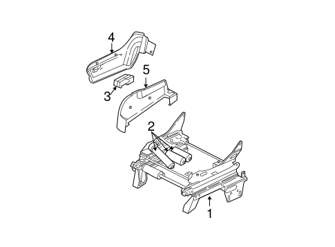 SEAT ADJUST ASSY for 2006 Chrysler Town & Country