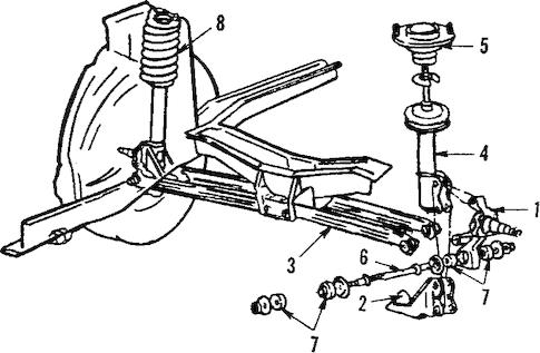 REAR SUSPENSION for 1984 Ford Tempo