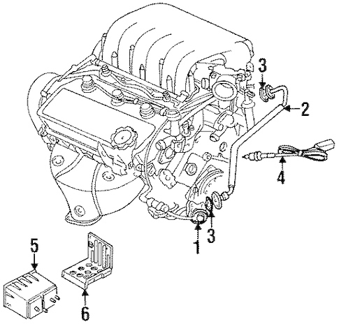 1994 Plymouth Voyager Engine Diagram 1995 Honda Civic