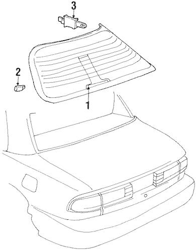 ANTENNA & RADIO Parts for 1997 Buick LeSabre