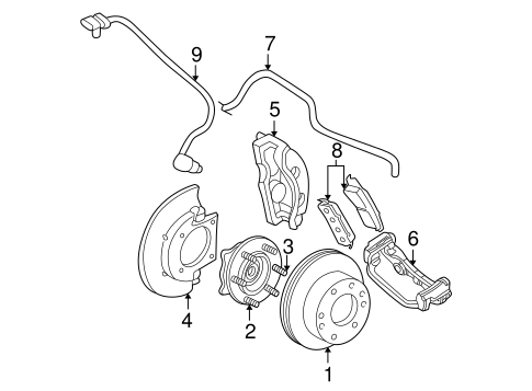Gm Abs Valve ABS System Parts Wiring Diagram ~ Odicis