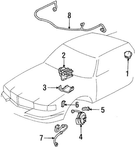 CONTROL MODULE for 2002 Cadillac Eldorado 19244916