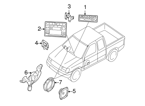 SOUND SYSTEM for 2001 Nissan Frontier