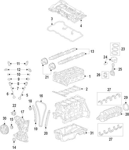 2014 Hyundai Elantra Gt Parts
