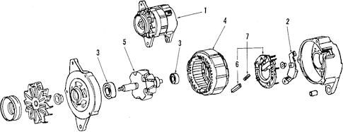 Genuine OEM ALTERNATOR Parts for 1991 Toyota MR2 Turbo