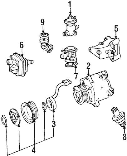 1992 Mercedes 400se Engine 1992 Free Engine Image For User Manual