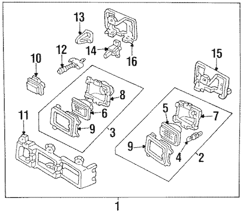 Canister Solenoid 2008 Saturn Vue Parts Diagram. Saturn