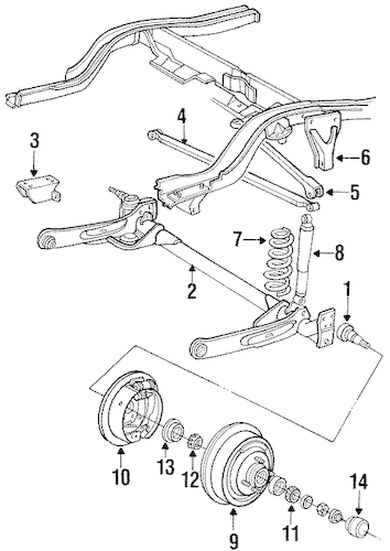 Service manual [1992 Chrysler Lebaron Rear Differential