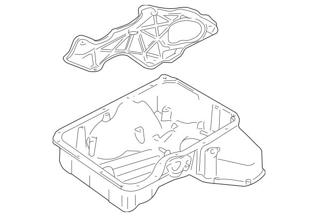 OIL PAN for 2001 Chevrolet Tracker|91177730