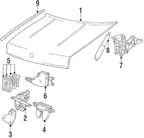 Mustang Wiring Diagrams 83 83 Mustang Interior Wiring