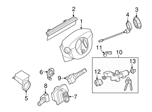 2000 Subaru Forester Serpentine Belt Diagram