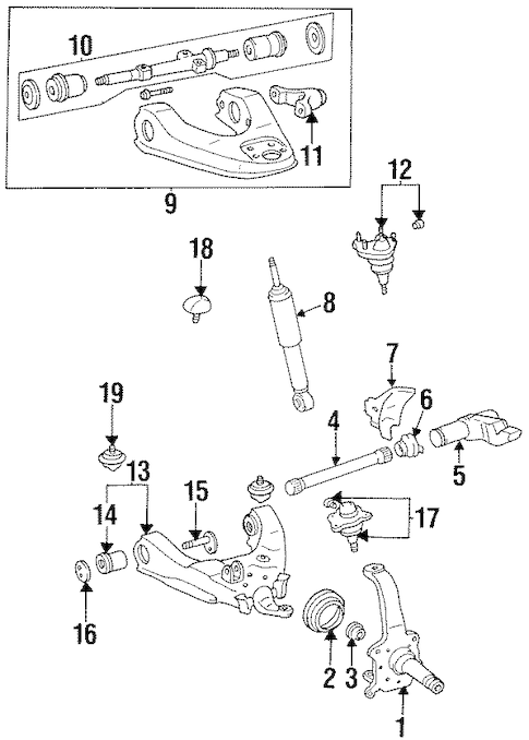 Service manual [1997 Toyota T100 Front Main Seal