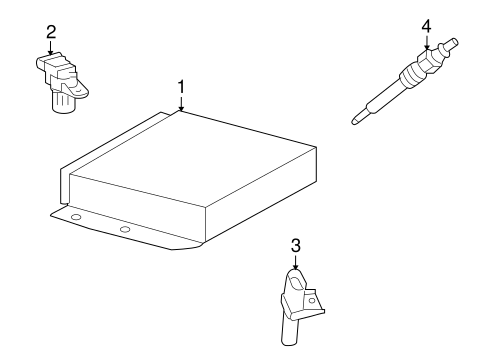 Dodge Sprinter Crankshaft Position Sensor
