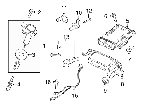 IGNITION SYSTEM for 2015 Ford F-150