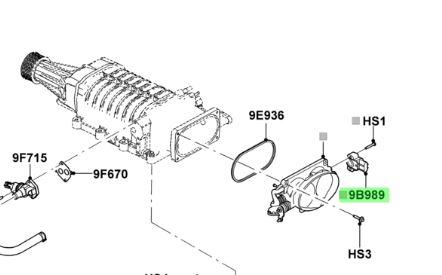 Buy this Genuine Ford f4sz-9b989-aa Ford Genuine engine