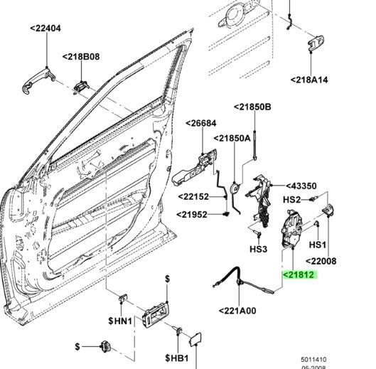 Buy this Genuine 2013-2019 Ford de9z-74264a26-c 2012 2013