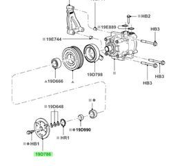Buy this Genuine 1991-2007 Ford 1l3z-19d786-ba 2005 2006