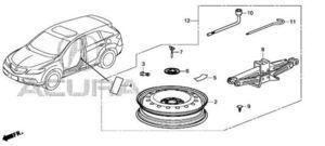 2016-2018 Acura RDX 5-DOOR Tire, Spare Kit 06421-TX5-A03ZA