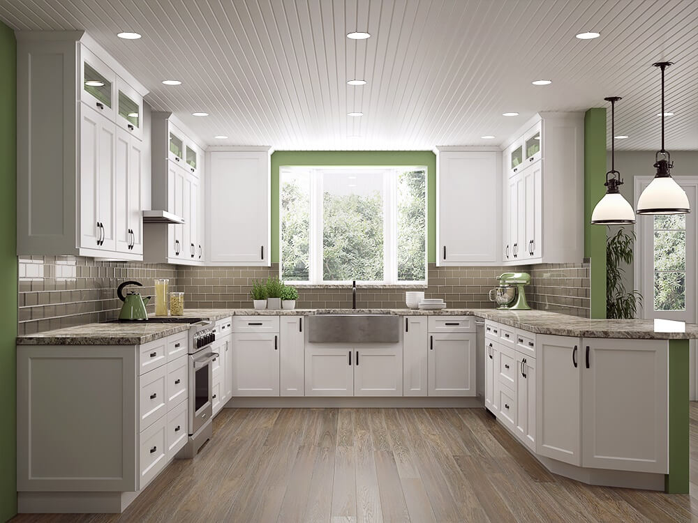 White Shaker Cabinets The Hottest Kitchen Design Trend