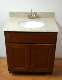 Bordeaux Shaker Bathroom Vanities - RTA Cabinet Store