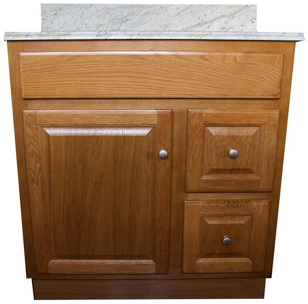 Oak Bathroom Vanities