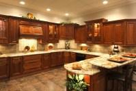 Cherry Glazed Kitchen Cabinets - RTA Kitchen Cabinets