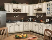Coastal Ivory Kitchen Cabinets - RTA Kitchen Cabinets