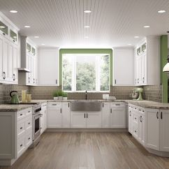 Kitchen Cabinets Rta Discontinued Frosted White Shaker Cabinet Store Up To 40 Off Retail