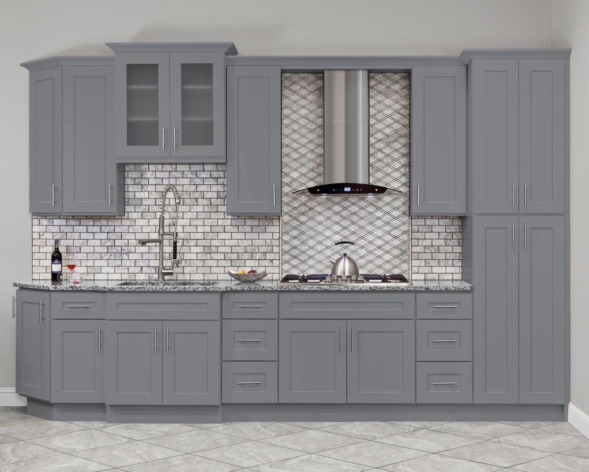 Hartford Grey Kitchen Cabinets Rta Cabinet Store