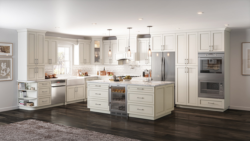 ostland white rta cabinet store