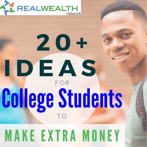 Image Highlighting 20 Plus Ideas for College Students to Make Extra Money