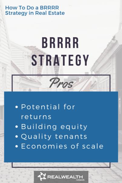 BRRRR Strategy Pros