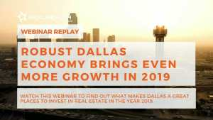 Dallas Real Estate Market Update May 2019 Webinar